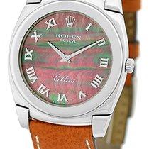 """Rolex """"Cellini Cestello"""" Strapwatch."""