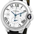 """Cartier """"Ballon Bleu"""" Chronograph Strapwatch."""