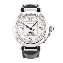 Cartier Pasha Xl 42mm W3109255 Stainless Steel Automatic Wrist...