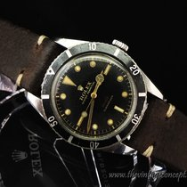 Rolex 6536-1 Submariner Gilt Dial Red Depth