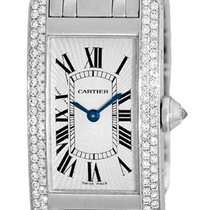 "Cartier Diamond ""Tank Americaine""."