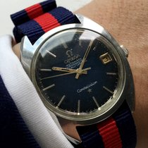 Omega Constellation Automatic Automatik with blue dial SPIDE