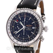 Breitling Navitimer World Automatic Chronograph A24322 Mens...