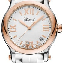 Chopard Happy Sport Round Quartz 36mm 278582-6001