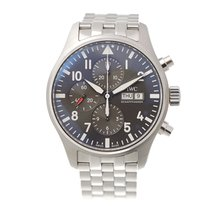IWC Pilots Stainless Steel Gray Automatic IW377719