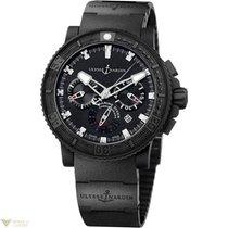 Ulysse Nardin Black Sea Chronograph Stainless Steel Men`s Watch