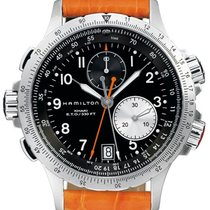 Hamilton Khaki Aviation H77612933 Sportliche Herrenuhr Fliegeruhr