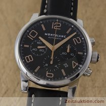 Montblanc Timewalker Chronograph Automatik Stahl Ref 7141