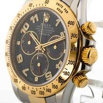 Rolex Daytona Stahl/Gold blaues Zifferblatt Ref. 116523