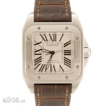 Cartier Santos 100 Medium W20126X8 Stahl B+ P 06/2009 D