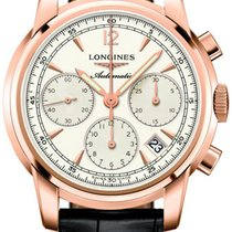 Longines The Saint-Imier 41mm L2.752.8.72.3 18kt Rose Gold...