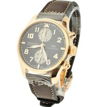 IWC IW387805 Pilots Chronograph - Saint Exupery in Rose Gold -...
