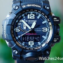 Casio G Shock Mudmaster Black Triple Sensor Digital Analog...