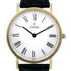 Concord Gold  Roman Numeral Dial Watch