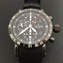 Chronoswiss Timemaster chronograph GMT in DLC
