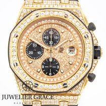 Audemars Piguet AP Royal Oak Offshore 18K 750 Pinkgold ICE...