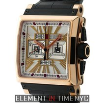 Roger Dubuis King Square Chronograph 18k Rose Gold 41mm...