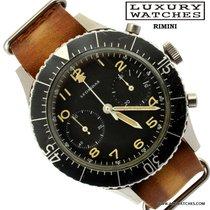 Leonidas Cronografo CP 2 Flyback Esercito Italian Military 1964