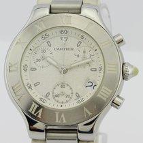Cartier Chronoschaph Must 21 White Unisex 2424