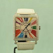 Franck Muller Master Square Diamond (€ 33.000,- ex.V.A.T.)