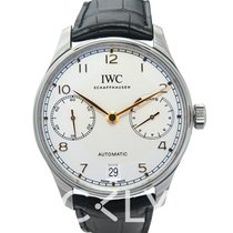 IWC Portugieser Automatic White Stainless Steel 42.3mm - IW50070