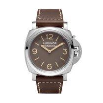 Panerai Luminor 1950 3 Days Acciaio 1000 Pcs Manual Mens watch...