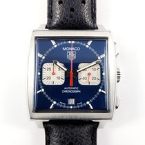TAG Heuer Monaco Steve McQueen CW2113 blue Calibre 17