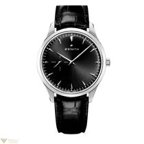 Zenith Elite Ultra Thin Stainless Steel Black Dial 40mm...