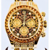 Rolex Cosmorgraph Daytona Leopard Dial 18K Gold Automatic...