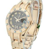 Rolex Unworn 80315 Rose Gold Ladys Masterpiece with Diamond...