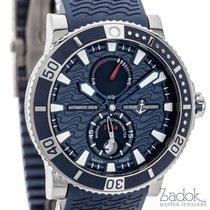 Ulysse Nardin Maxi Marine Diver Automatic Watch Blue Dial...