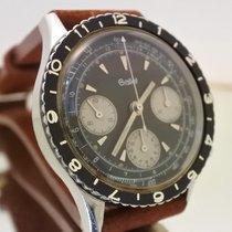 Gallet chronograph Multichron pilot vintage valjoux 72