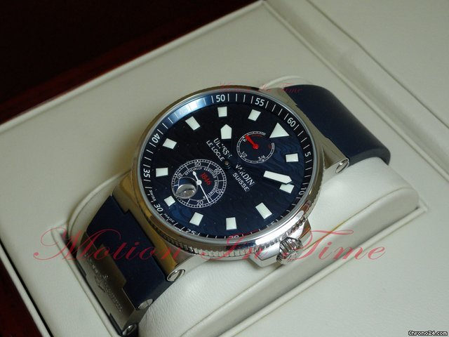 Ulysse Nardin BLUE WAVE - MAXI MARINE CHRONOMETER 41mm LIMITED EDITION S/S