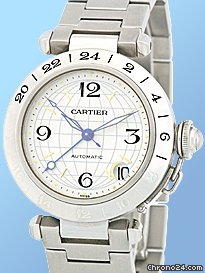 Cartier Pasha C Dual Time
