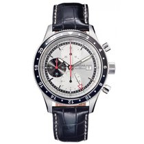 Davosa World Traveller Chronograph Stahl Automatik 44mm