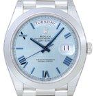 Rolex Day-Date 40 blue ice roman