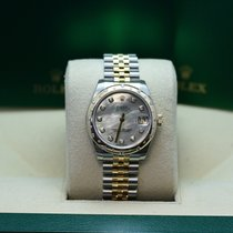 Rolex  Datejust  24 diamonds, mother of pearl dial, diamond