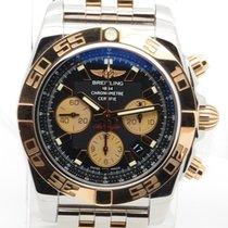 Breitling Chronomat 44 18k Rose Gold & S'steel 44mm...