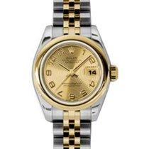 Rolex Lady-Datejust 26 179163-CHPCAJ Champagne Concentric...