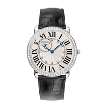 Cartier Ronde Manual Mens Watch Ref WR007002