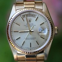 Rolex Mens Or Ladies President 36mm 18k Yellow Gold 18038 6...