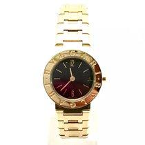 Bulgari 25mm  Diagono 18k Solid Yellow Gold Ladies Watch W/...