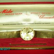 Mido ocean star chronometer 14 krt goud