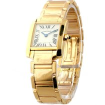 Cartier W500264H Tank Francaise - Small Size - Rose Gold on...