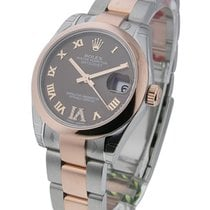 Rolex Unworn 178241 Mid Size 2-Tone Rose Gold with Oyster...