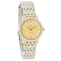 Omega DeVille Prestige Ladies Diamond Watch 424.25.24.60.58.001