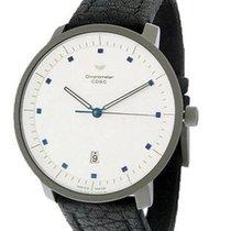 Ventura Titanium EGO Mid-Size Chronograph - White Dial with...