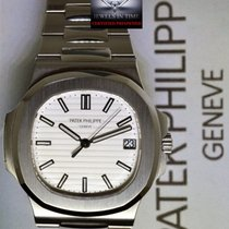 Patek Philippe Mens Nautilus Steel Automatic Watch Box/Papers...
