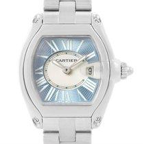 Cartier Roadster Ladies Blue Dial Steel Watch W62053v3