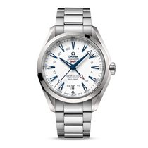Omega Seamaster Aqua terra Automatic 24 HS GMT Date Mens watch...